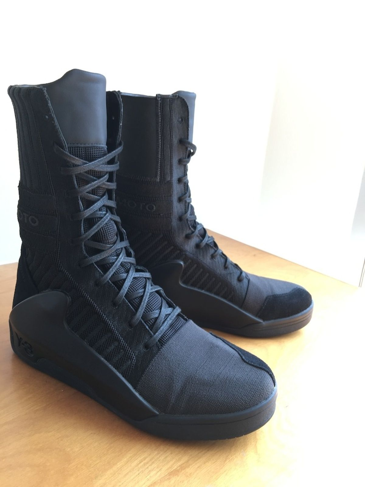 76209359e3c64 Buy Y-3 Yohji Yamamoto Y 3 Hayworth Guard High Boots