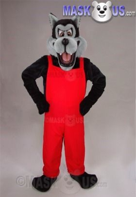 BAD WOLF  MASCOT COSTUME CHARACTER