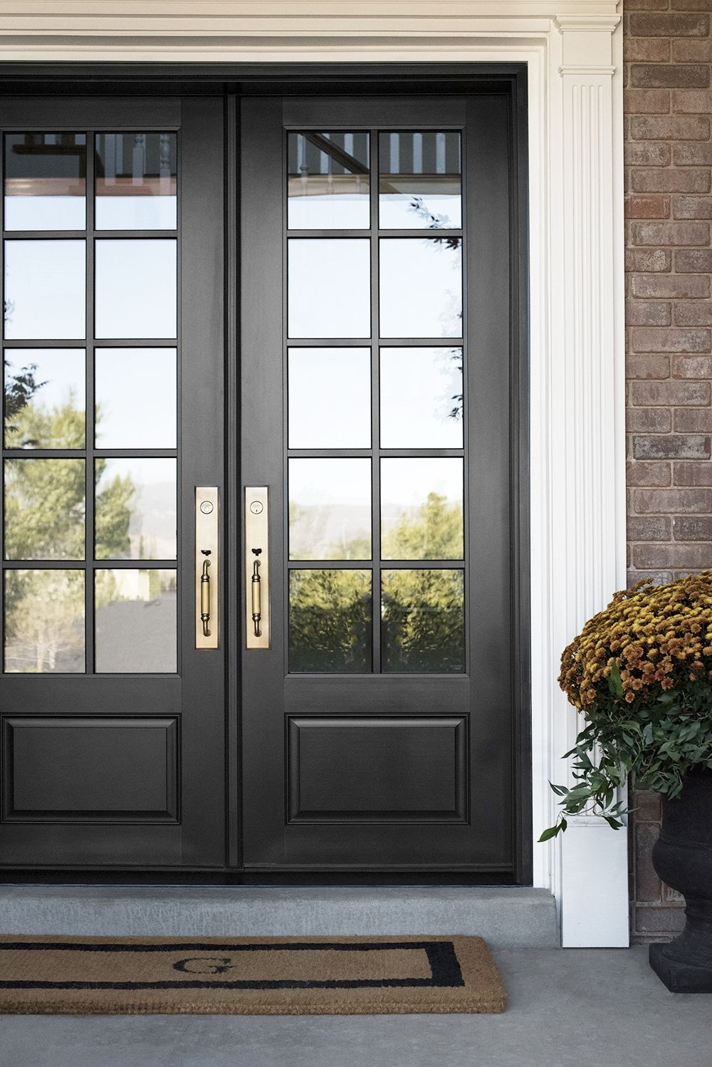 10 Home Updates That Actually Pay Off Add Value Traditional Front Doors Double Front Doors Exterior Doors