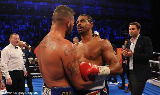 "Tony Bellew reveals he pleaded with David Haye to retire after brutal knockout -  By Daniel Matthews For Mailonline  Published: 20:23 EDT 5 May 2018 | Updated: 03:37 EDT 6 May 2018  Tony Bellew has revealed how he pleaded with David Haye to call it a day after leaving his rivals career in jeopardy with a second stunning knockout in 14 months.  Bellew followed up his victory last March with a brutal fifth-round stoppage of Haye at the O2 Arena on Saturday night.  The 37-year-old Hayemaker hinted that he may yet carry on despite admitting before this fight that his hopes of regaining a world title would be over without a spectacular victory.  Tony Bellew has revealed how he pleaded with David Haye to call it a day after brutal KO  Haye was sent tumbling to the canvas for the final time in the fifth round suffering another loss  And Bellew admits he urged his bitter rival not to carry on.  My first words when he hugged me I was a bit emotional on the canvas I said to him ""please stop"" he said.  This is a very unforgiving sport a young mans sport for a fighter with attributes David Haye has boxing does no favours to fighters over 35 who rely on reflexes.'  He adds: He will always have the punch (power) but he doesnt have the speed and explosiveness.  Bellew is now eyeing a fight with Andre Ward claiming he could outbox the former pound-for-pound king. Ward 'wants the fight' the Bomber even claims.  But the 35-year-old also called out Tyson Fury  who returns to the ring next month.  I would love Tyson Fury I would love to knock Tyson Fury out and I know I can he said.  Bellew wants a fight with Andre Ward claiming he could outbox ex-pound-for-pound king  Advertisement  BetterNews.info  news website  The post Tony Bellew reveals he pleaded with David Haye to retire after brutal knockout appeared first on BetterNews.info - news website."