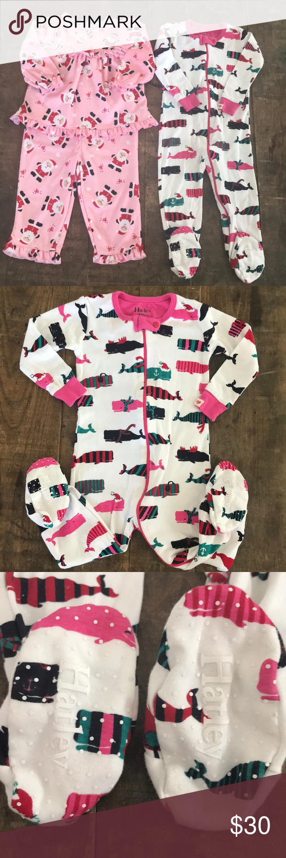 SOLD🔹HATLEY/ LITTLE ME Holiday Pajamas Duo Holiday