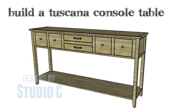 Tuscana Console Table