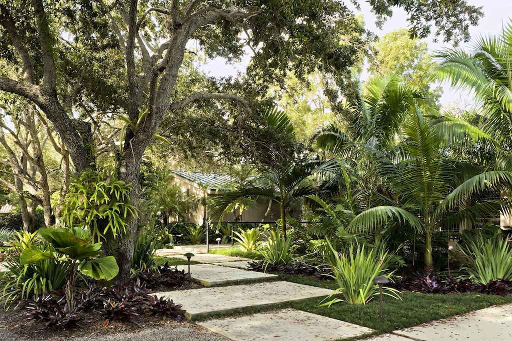 landscaping and garden ideas raymond jungles lazenby subtropical garden design miami florida - Garden Design Tropical
