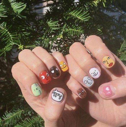 best nails summer cute manicures 34 ideas  manicure
