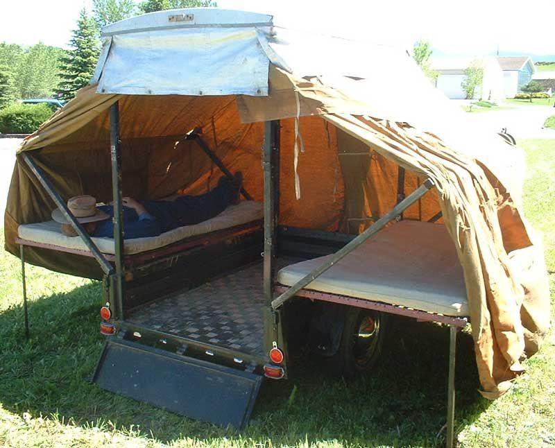 Pop Up Campers 1937 Rex 2 Man Pop Up Camper For Sale 6000 800x646