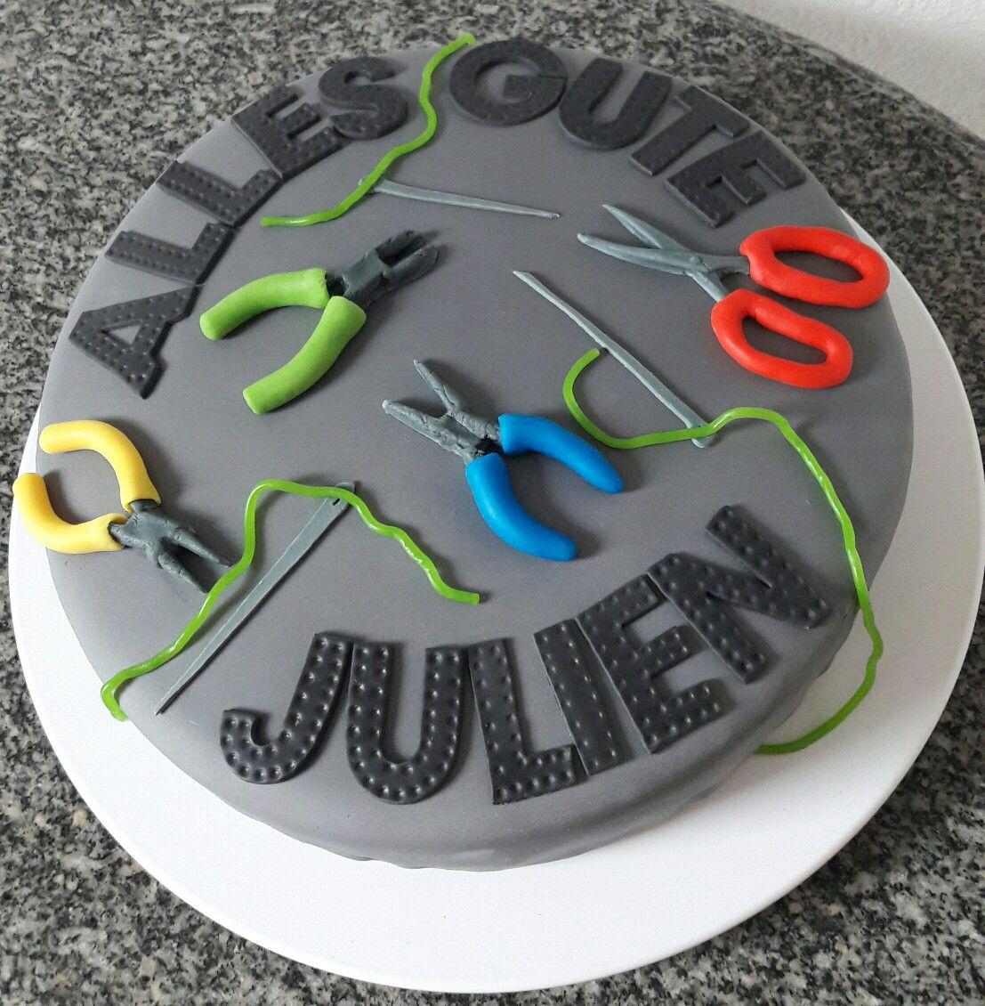 Torte Zum Ausbildungsstart Alles Gute Lieber Julien
