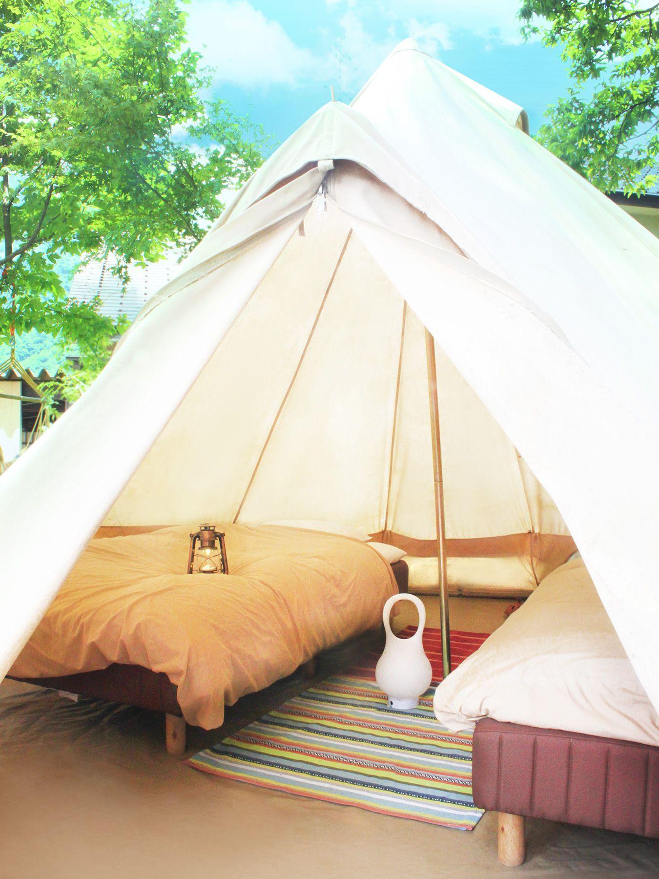 おしゃれキャンプでインスタ映え 北陸でグランピングするなら一里野高原ホテルろあん グランピング キャンプ おしゃれ キャンプ