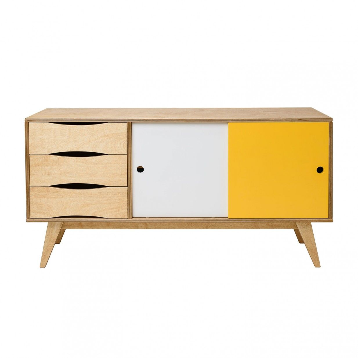 Schön Kleiderschrank 150 Cm Dekoration Von 150cm Sideboard - Ws/gb/eiche | Radis