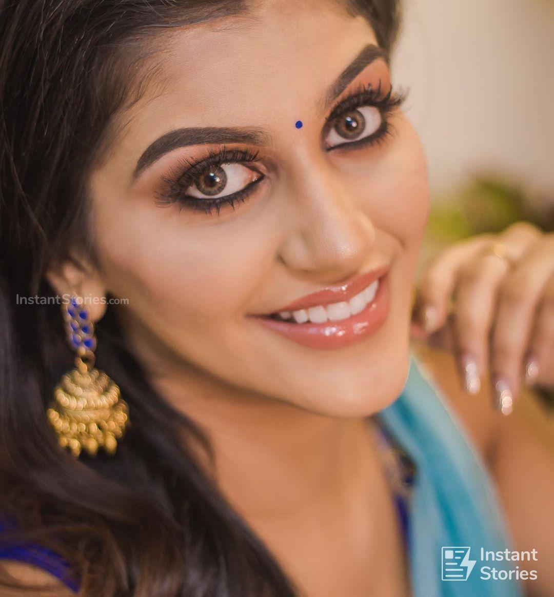 Yashika Anand Latest Hot Photoshoot Photos In Blue Dress Hd
