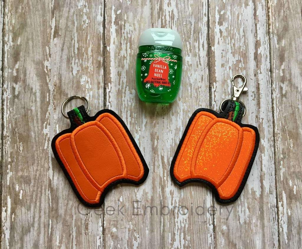 Pumpkin Hand Sanitizer Holder Hand Sanitizer Holder Hand
