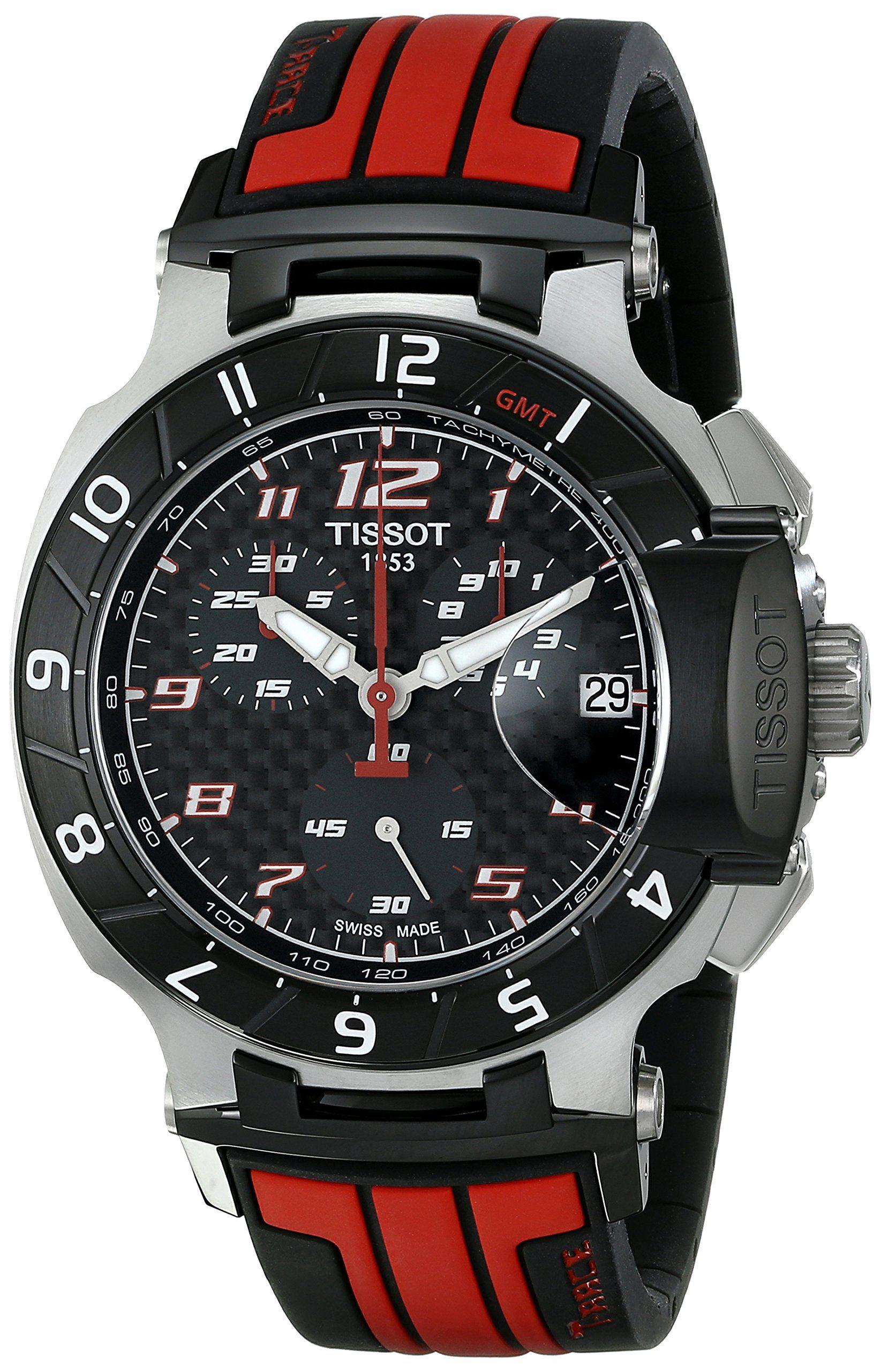 Tissot Men's T-Race MotoGP Limited Edition Analog Display Swiss Quartz Red Watches