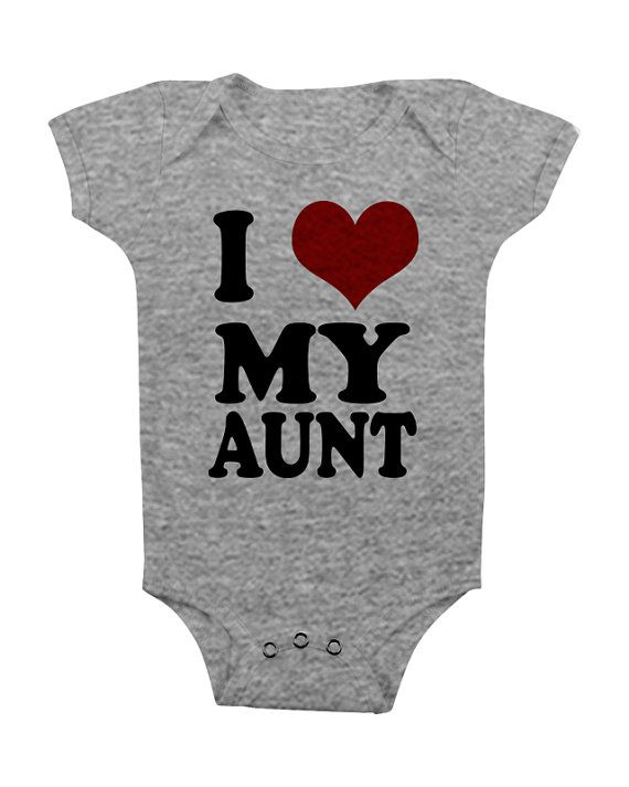 Hey i found this really awesome etsy listing at httpsetsy aunt onesie shirt gifts aunt to be onesies i love my aunt auntie baby onesie shower gift newborn boy girl funny personalized cute unique negle Image collections