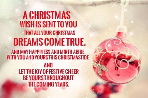 Dreams Come True Christmas Wishes Merry Christmas Wishes Quotes Merry Christmas Wishes Messages Merry Christmas Wishes
