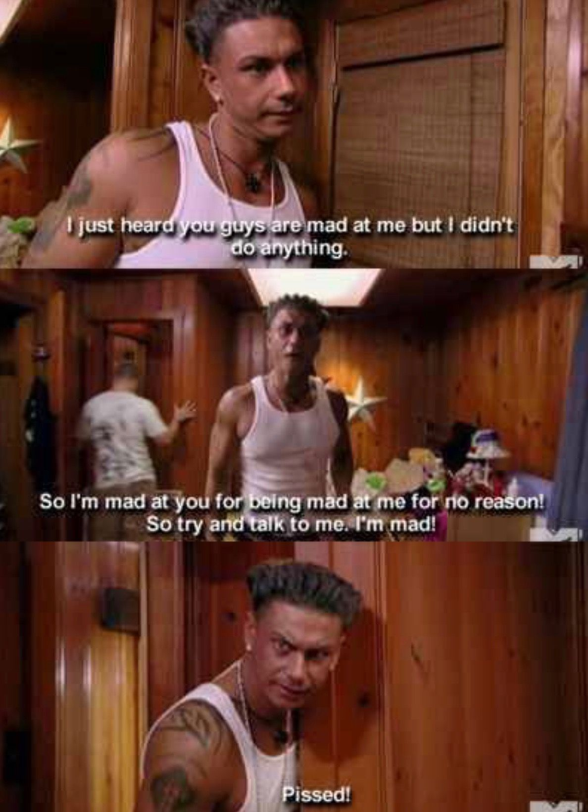 The Jersey Shore Just for laughs, Pauly d, Make me laugh