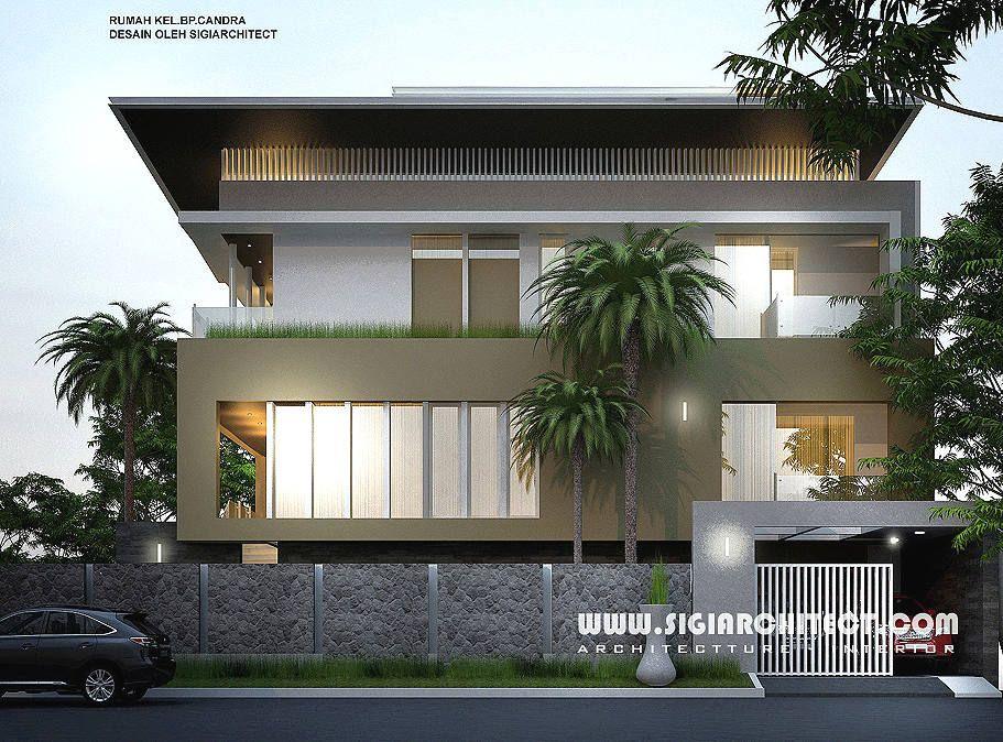 Desain Rumah Mewah Hook 34 Lantai, modern minimalis
