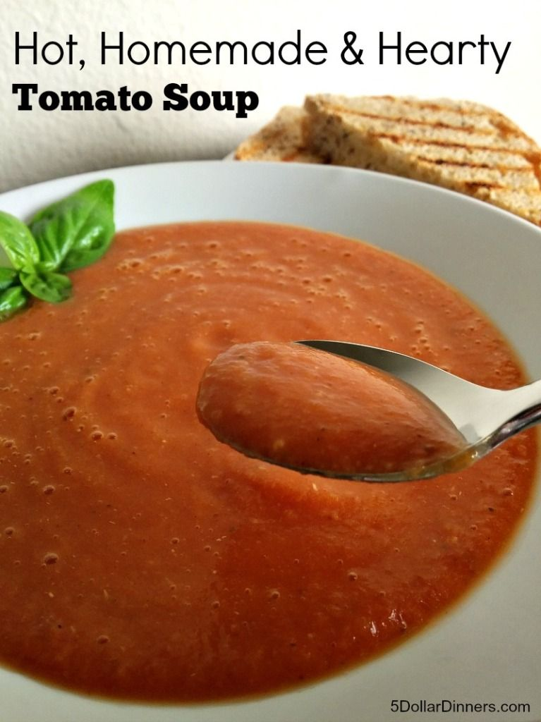 Rice Cooker Hearty Tomato Soup #ricecookermeals