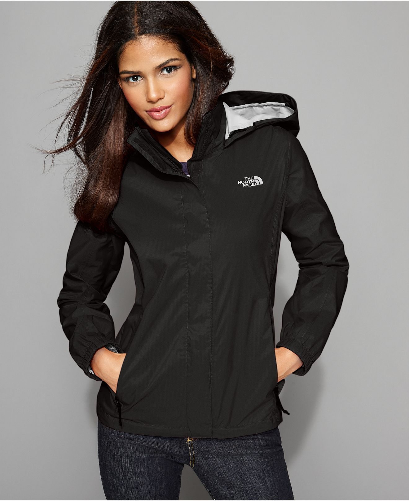 3f0c68df3 The North Face Jacket, Resolve Lightweight Zip Up Rain Jacket ...