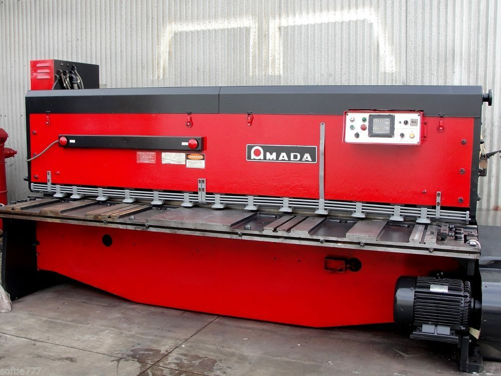 Amada 1 4 X 10 Capacity Power Squaring Shear Model M 3060 Oc2027 Amada Metal Working Rectangular Home