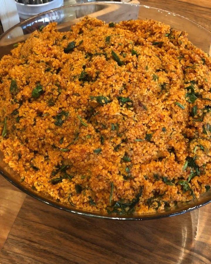 """Mutfak Polonez'in """"Kısır Salatası"""" 💫 #mutfakpolonez #palladiumavm #vadistanbul #lezzet #lezzetliyemekler #lezzetlisunumlar…"""