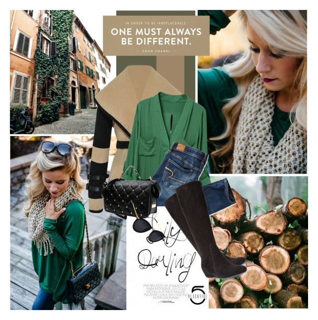 """Forest Green"" by dedeata ❤ liked on Polyvore"