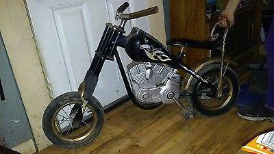 Vintage Huffy Pork Chopper Half Ton Bicycle 12 Harley Motorcycle