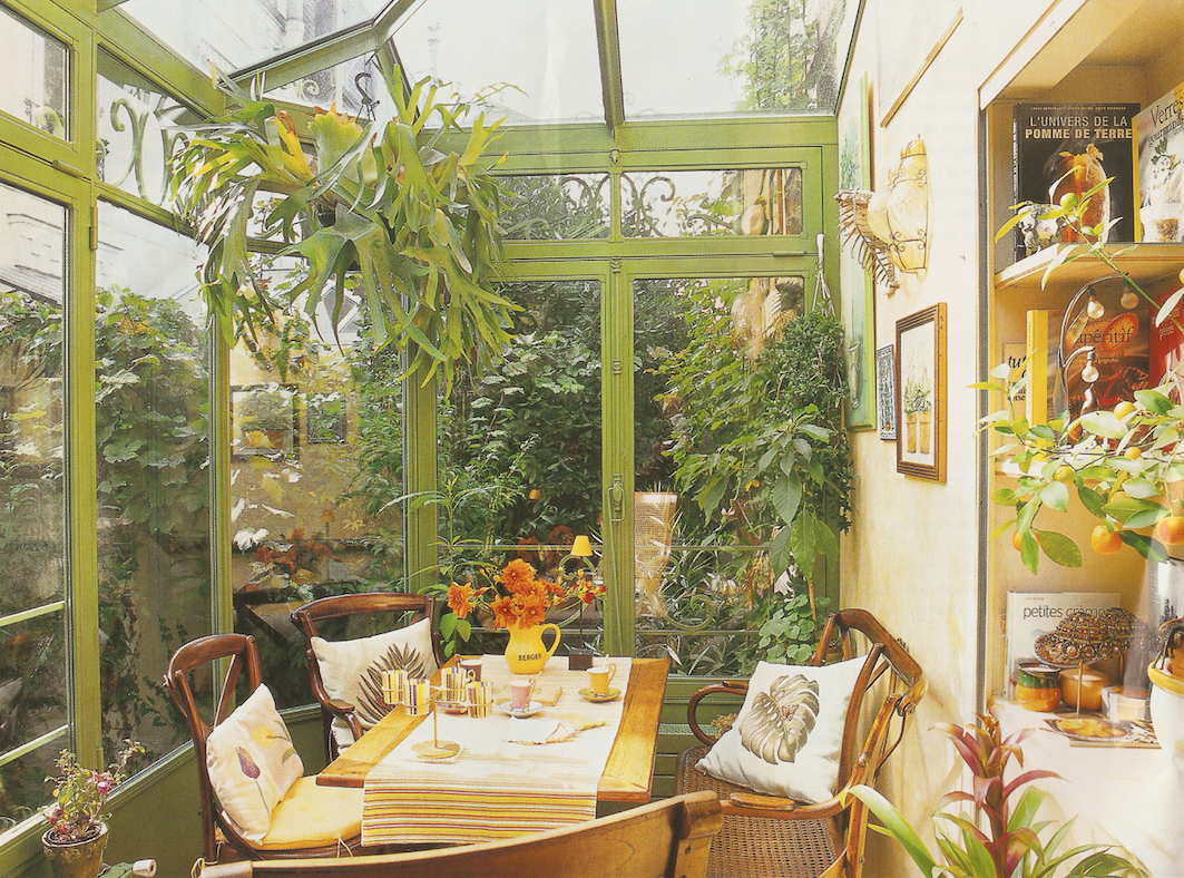 Art Et Decoration French Veranda From Art Et Decoration May 2006 Love It