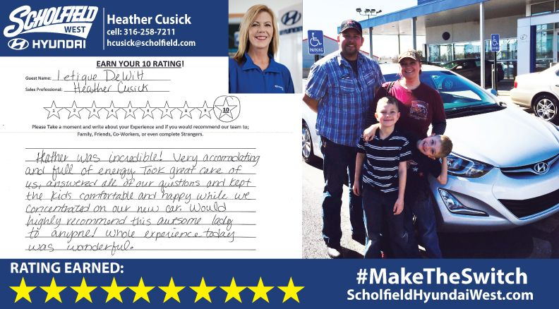 Thank You To The Dewitt Family For Maketheswitch Welcome To