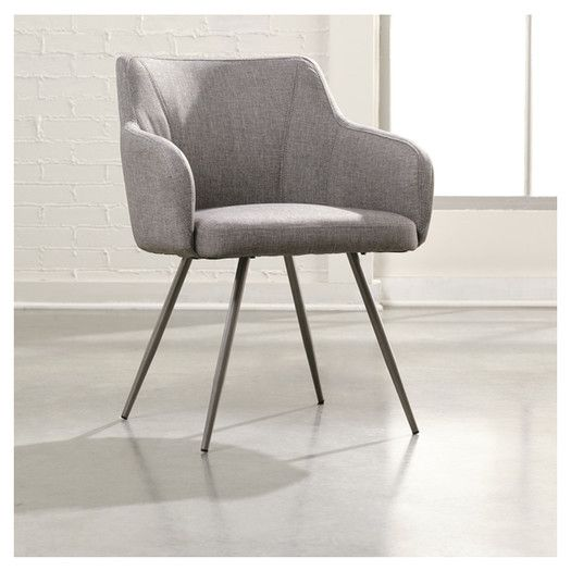 Sauder Soft Modern Occasional Arm Chair Blue Ocean Dream