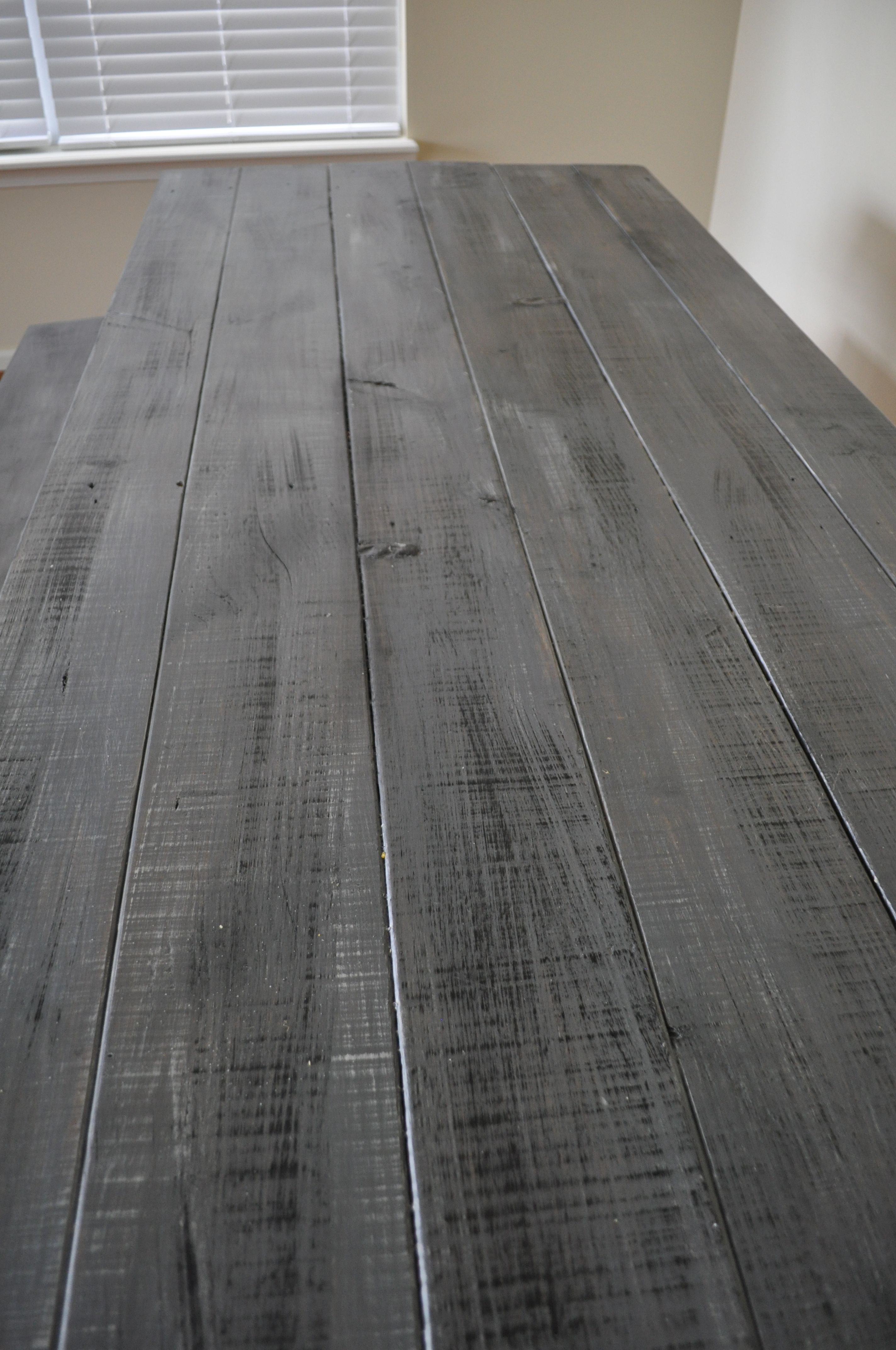 Create a DYI Faux weathered barn wood look for farmhouse ...
