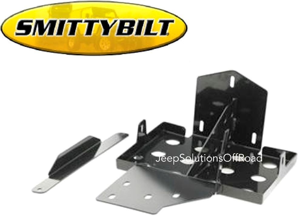 1000 images about dual battery rear seat trays smittybilt 2799 dual battery tray 07 15 wrangler jk jku optima batteries rubicon