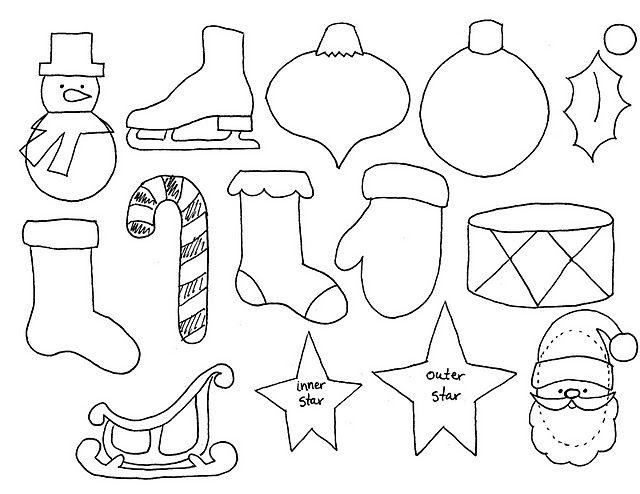 30++ Felt christmas shapes craft ideas