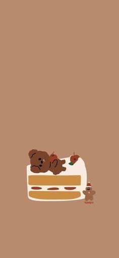 Mong Mong Bear Korean Wallpaper Google Search Wallpaper Iphone Cute Kawaii Wallpaper Cute Cartoon Wallpapers