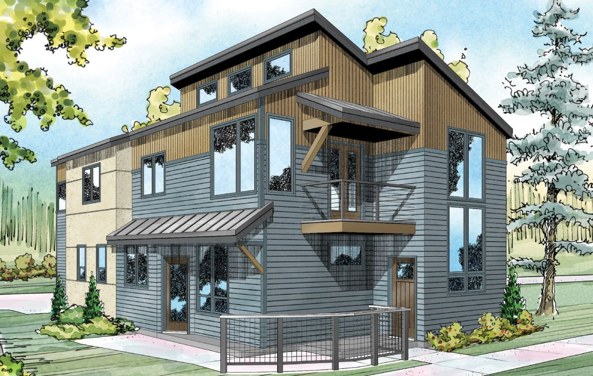 New House Plan Parkview 30 905