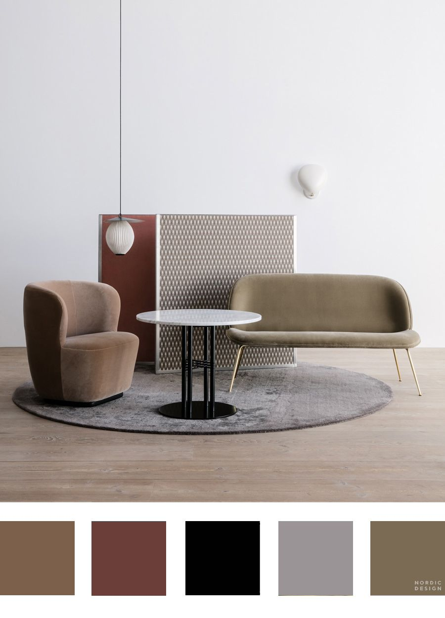 10 Beautiful And Totally Workable Color Palettes From Danish Design Powerhouse Gubi Nordic Design Danish Design Scandinavian Design House Lighting Design Interior