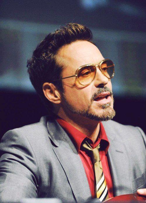 Robert Downey Jr. at Comic Con in 2012.
