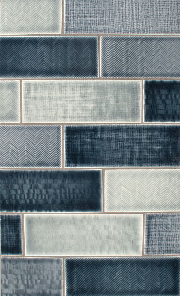 I could make these! TILES - Pratt and Larson texture field C, H, K ...