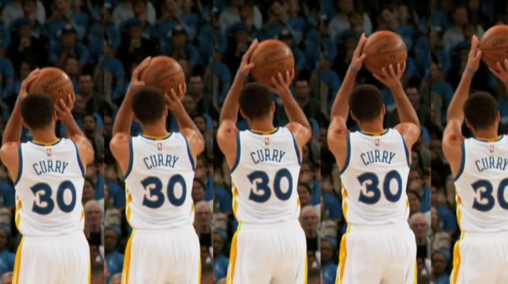 f4fe22443c2 Stephen Curry Shooting Form Breakdown Frame by Frame – Shotur Basketball  Jump Shot Tips
