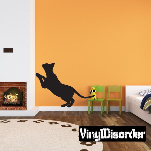Siamese Cat Wall Decal Vinyl Decal Car Decal Cats - Vinyl decal cat pinterest