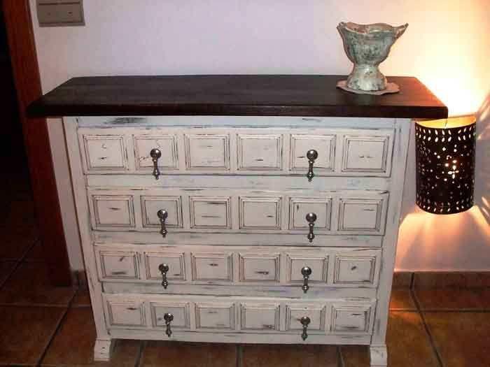 Os presento un mueble castellano antiguo que he decido - Recuperar muebles viejos ...