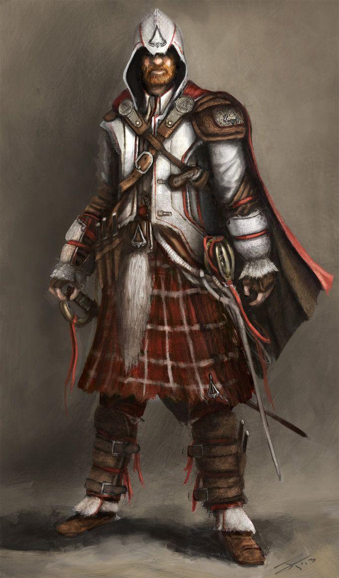 fantasy scottish setting | Scottish Assassin by JamesFinlayson
