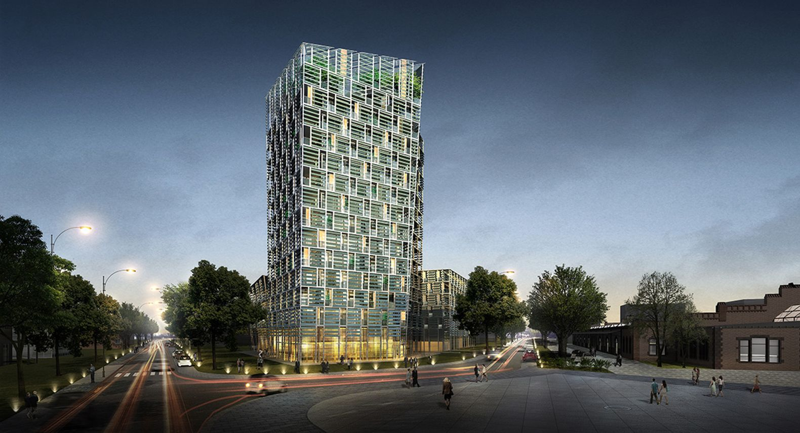 Smart Green Tower, solar-powered building, green tower, Germany, lithium-ion battery, Frey Architekten, Fraunhofer Institue for Solar Energy Systems (ISE), Siemens, green architecture, electric cars, energy storage, renewable energy sources, solar power, solar panels