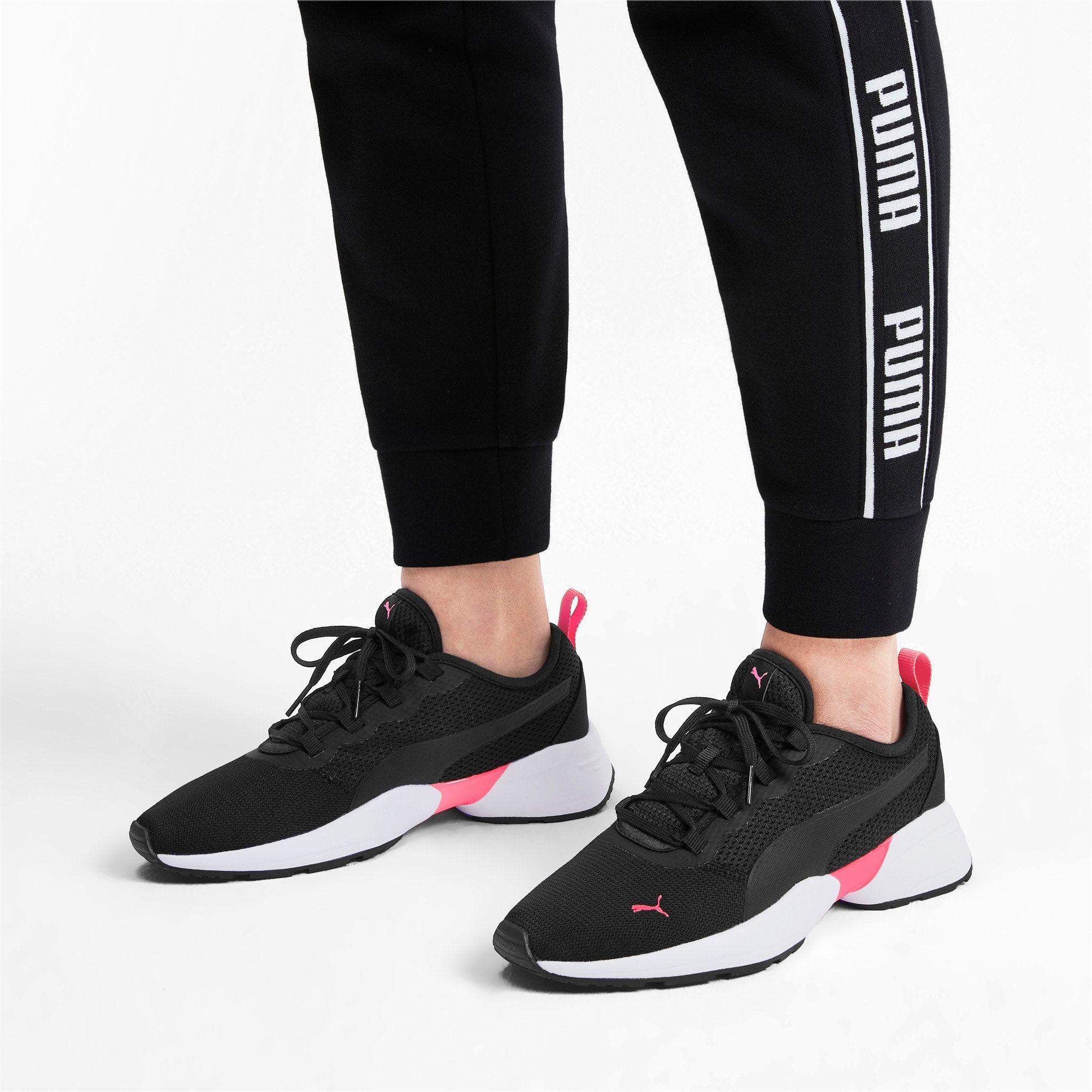 PUMA Sirena Sport Women's Trainers in Black/Pink Alert size ...