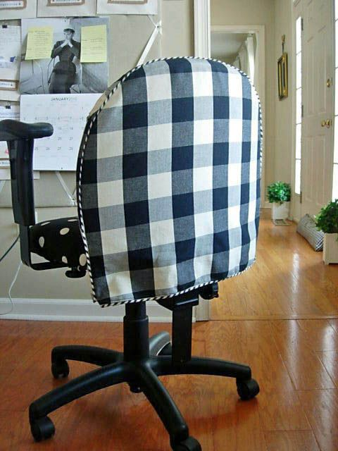 How To Cover A Studio Chair With Fabric To Protect It During A Workshop Or  To Make An Old Chair Look New.