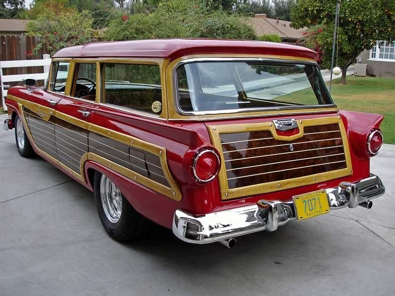 1957 Ford Country Squire Wagon...Brought to you by Agents of #CarInsurance at #HouseofinsuranceEugene