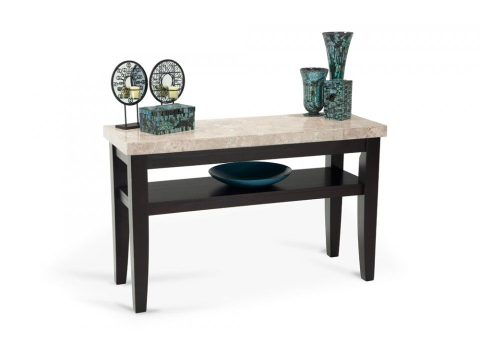 My Montibello Sofa Table adds a touch of elegance with real ...