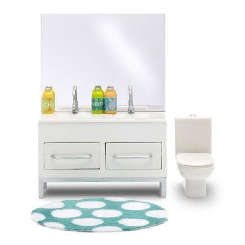 Lundby Stockholm 1:18 Scale Dolls House Bathroom Furniture Sink And Toilet  Set | Bathroom Furniture, Doll Houses And Stockholm