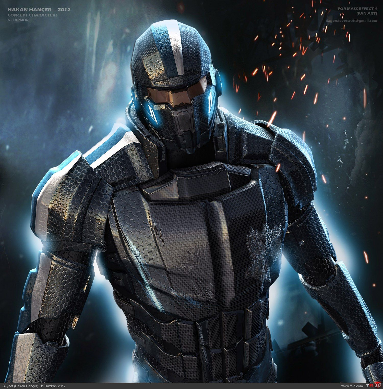 Mass Effect 4 Armor  Mass Effect 4, Mass Effect, Mass -2693