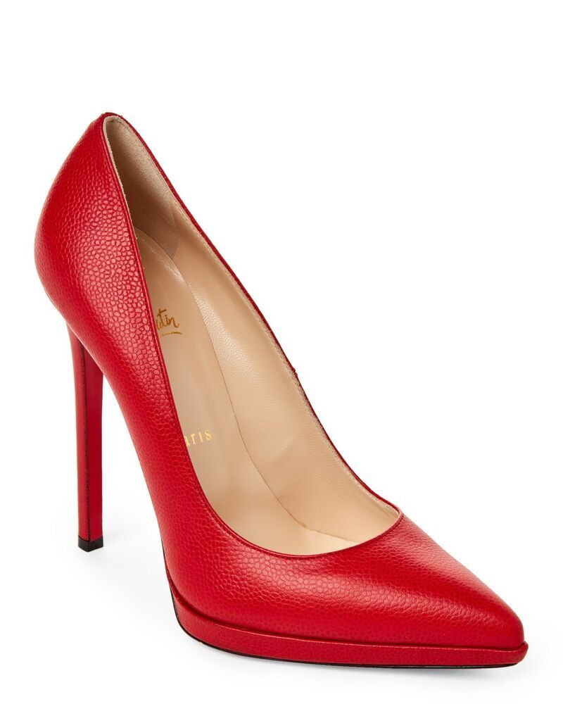 10b5712a757 ENDING SOON: 100% AUTHENTIC NEW WOMEN LOUBOUTIN PIGALLE PLATO 120 ...
