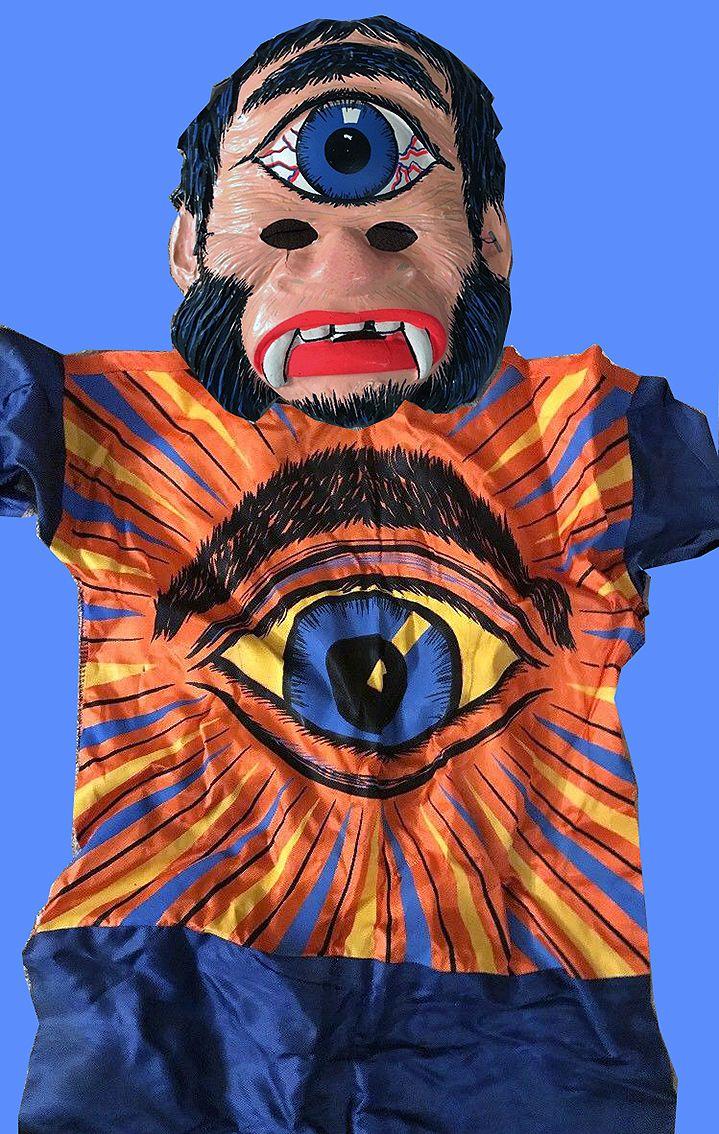 cyclops vintage ben cooper halloween costume. undated but from