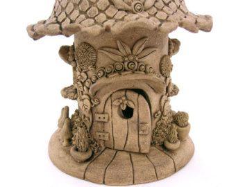 Hechas a mano gnome casa jard n decoraci n jardinero por for Decoracion de casas hechas a mano